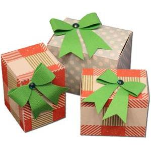 gift packages with bows