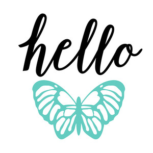 hello butterfly