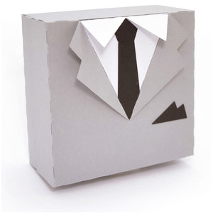 suit and tie box