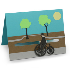 bicycle motion card
