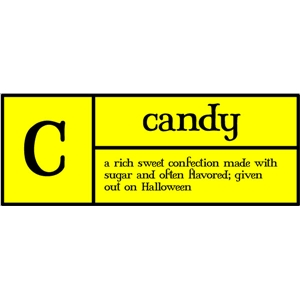 c is for candy pc