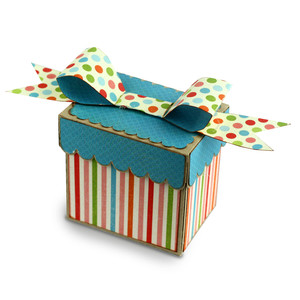 bow top pillow box