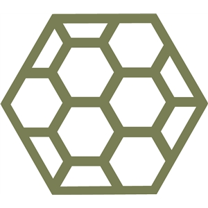 hexagonal geometric background