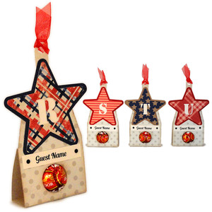 stars rstu candy place cards