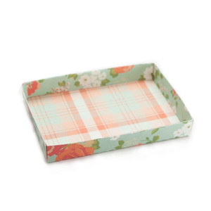 4x6 recipe card tray