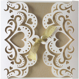 hearts gate fold card