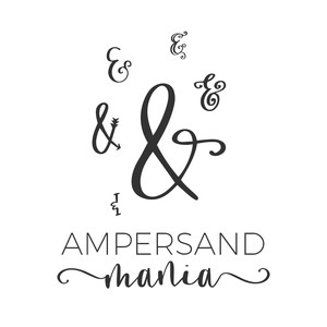 ampersand mania font