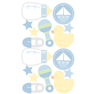 baby boy stickers