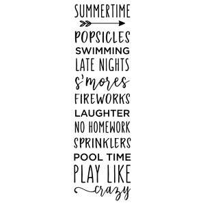 summertime list