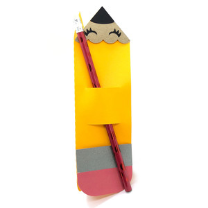 pencil holder card