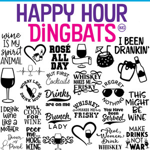 sg happy hour dingbats