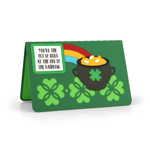 gift card holder st. patrick's