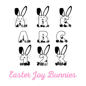 easter joy bunnies