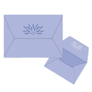 lotus flower envelope