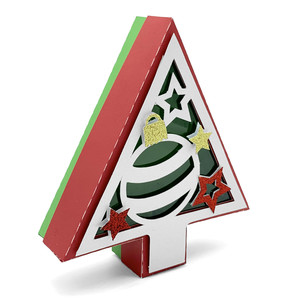 ornament and stars christmas tree box