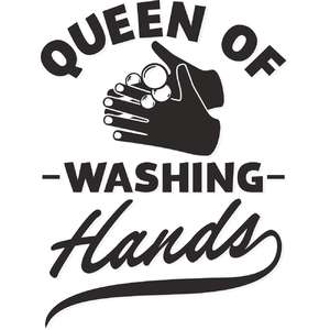queen of washing hands