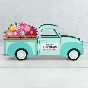 xl box card flower truck