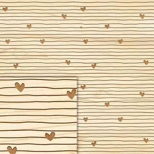wood love paper collection