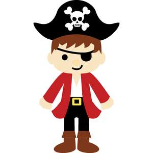 pirate with hat