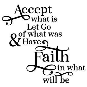 accept what is... quote