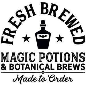 fresh brewed magic potions