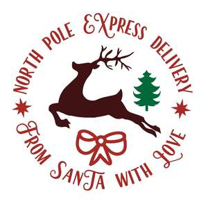 from santa with love north pole delivery