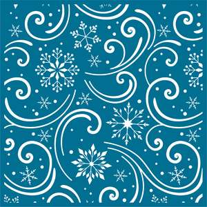 snowflake flurry background