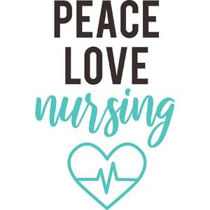 peace love nursing