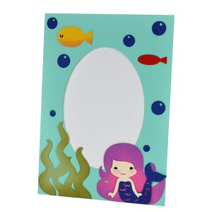 mermaid frame with stand