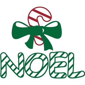 striped candy cane noel