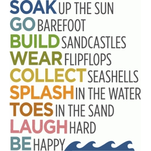 beach list - phrase