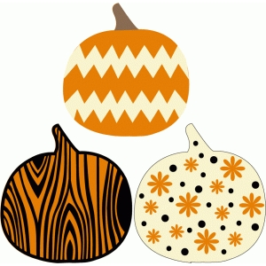 pattern pumpkins