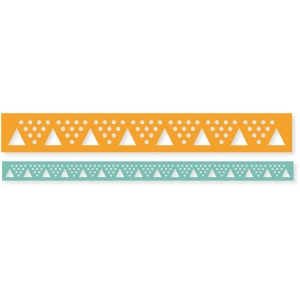 """seeing triangles"" border"