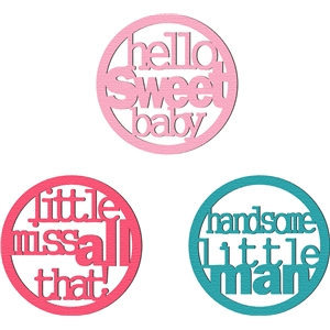 phrase words circle - baby