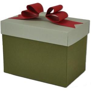 bow gift treat box