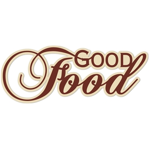 'good food' word phrase