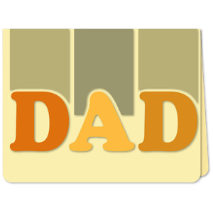 dad trio a6 card