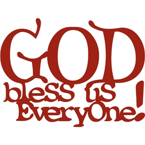 god bless us everyone phrase