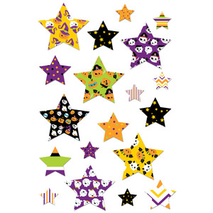 halloween star stickers