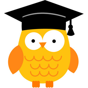 graduation owl - back to school