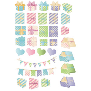 lots of gifts planner stickers