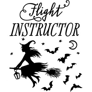 flight instructor witch
