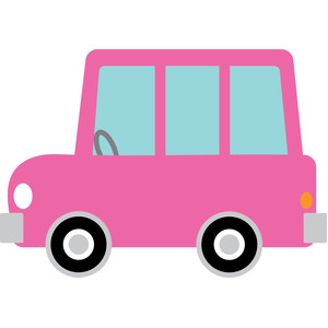 pink car - booville