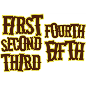 first-fifth