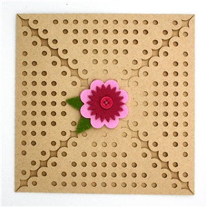 card wrap square-polka dots