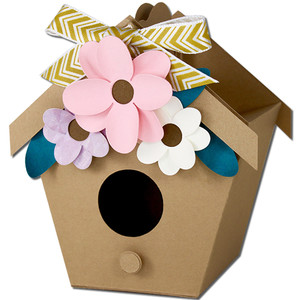 bird house treat box