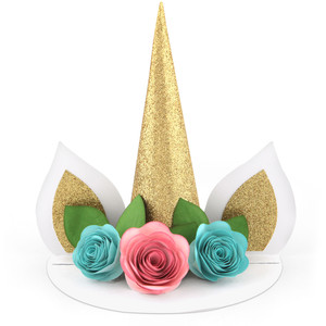 unicorn cake topper table decor