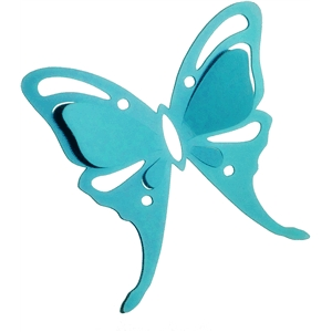 3d pop out luna moth butterfly