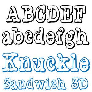 zp knuckle sandwich 3d