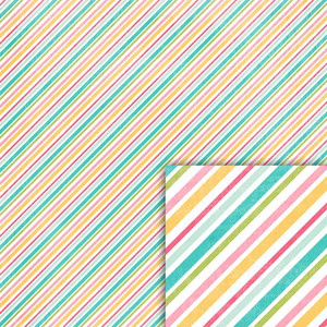 birthday stripes background paper